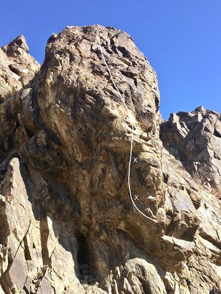 Lummox rock - Sharpooth 5.11a