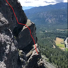 Roughly the route from the end of pitch 4 to the start of pitch 8. Taken from Prime Rib
