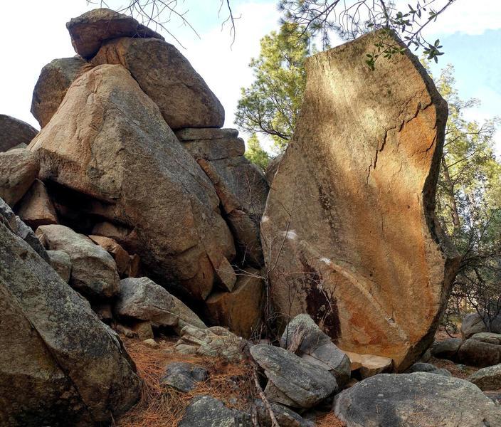 Poison Arrow Boulders.