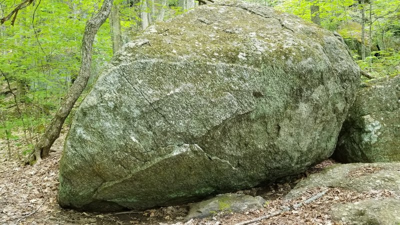 Dungeon Boulder, has some stout looking lines on really interesting granite