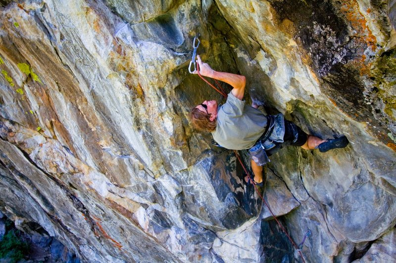 greg collins on arms deal 5.13 a/b circa 2006 photo bissell hazen