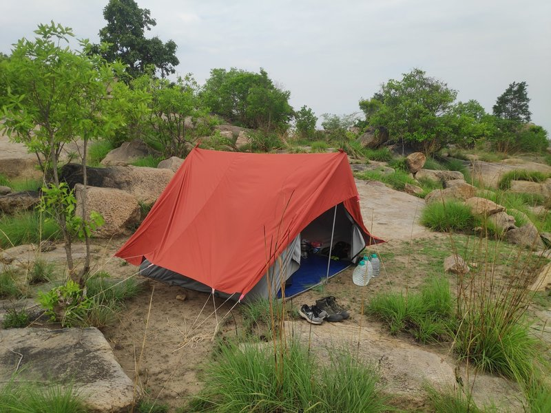 Camp Spot with the Lower view,