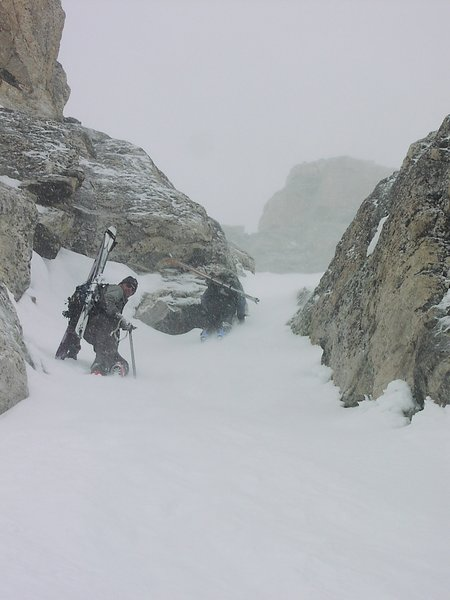 dec 22, 2004 east face of teewinot climb and ski with mason cassidy and chris figenshau photo bissell hazen