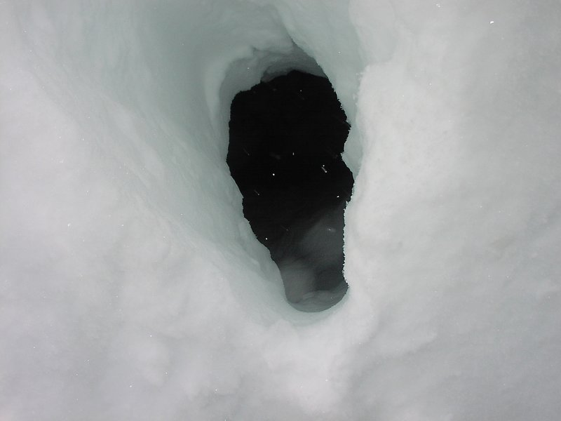 dec 22, 2004 east face of teewinot climb and ski with mason cassidy and chris figenshau photo bissell hazen    i felt like i stepped in a crevasse except we weren't on a glacier