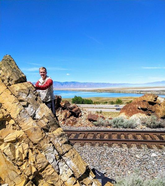 Sven on Railhead