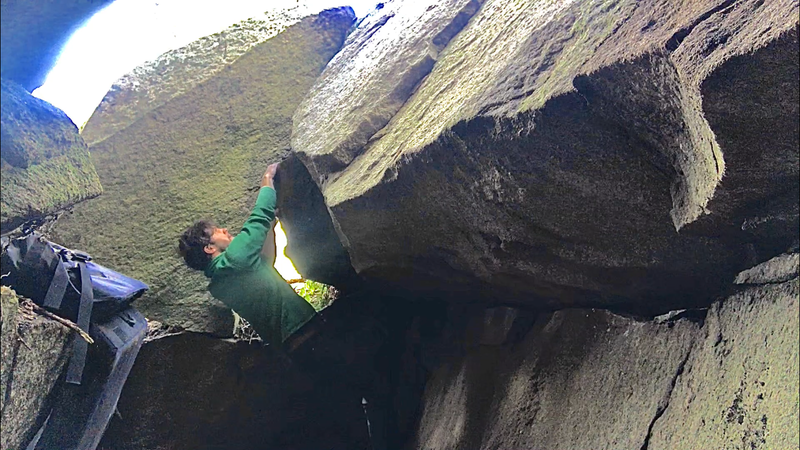 Great Escape cave to slab transition