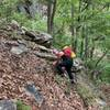 All the posts about the gully were dead on. It's steep and it's challenging but the payoff is huge. Great little crag, we had a blast. The ravine is really unique ta boot. Feels a bit Amazonian in June. Def recommend Indian graves ridge!