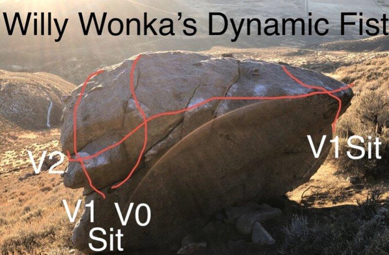 Silly Wonka's Dynamic Fist