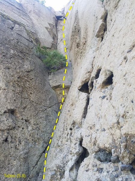 Clark Canyon - Area 13 - Right Recess - Taboo (5.8)