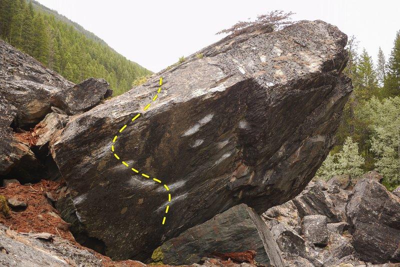 Dragnet Boulder