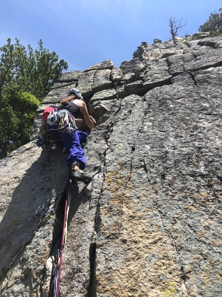 The start of the 5.7 pitch