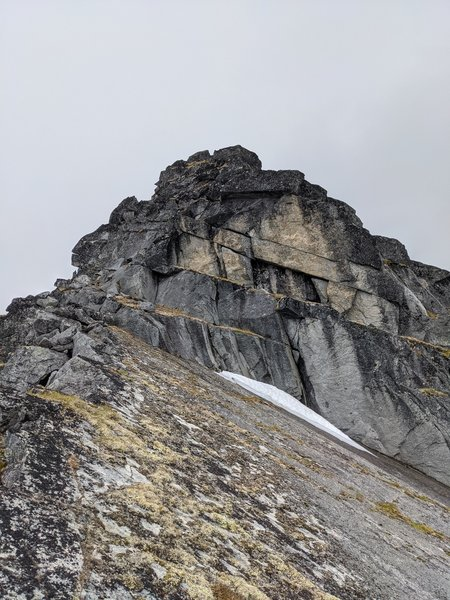 Lower Spire W Ridge.  Many low 5th options abound, with a couple harder lines in there as well.