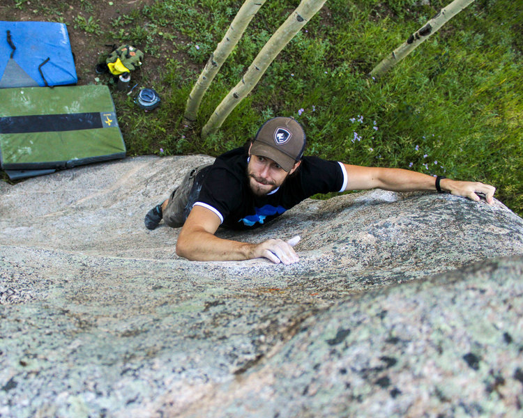 """Chad Allen bearing down on invisible holds on """"Laying in Wait."""""""