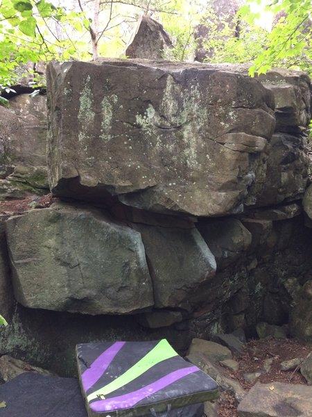 Skittle boulder
