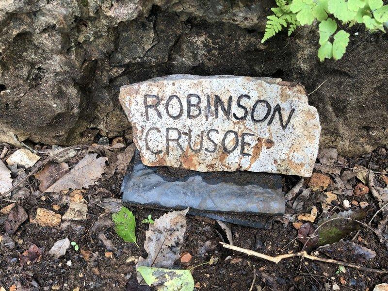 Robinson Crusoe Plaque