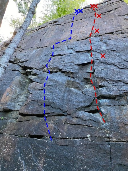 To Infinity and Beyond! (5.9) shown in red. Star Command (5.9+) in blue.