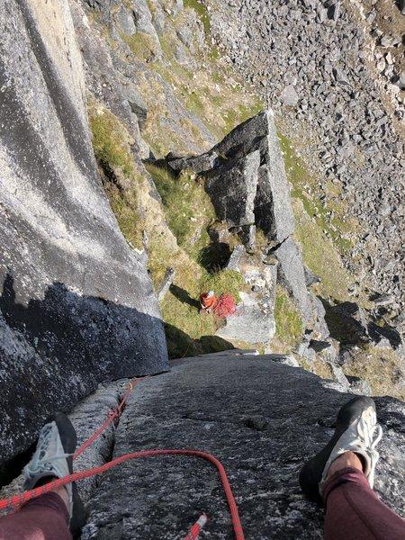 Wishing it were a longer climb.