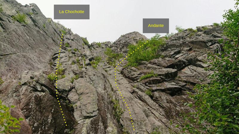 Start: La Chochotte, Andante.