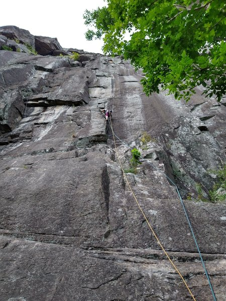 Nancy climbing p1