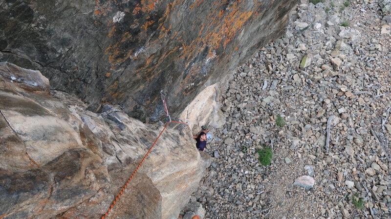 climbing at Ra