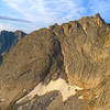 Northeast face of Wolfs Head as seen from Bollinger Peak.