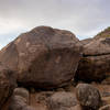 Picture of Unnamed Boulder #9 facing south