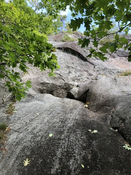 Pitch one of Pine Tree Crack