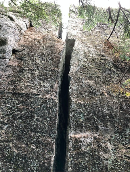 Straight on view of the West Side Squeeze.
