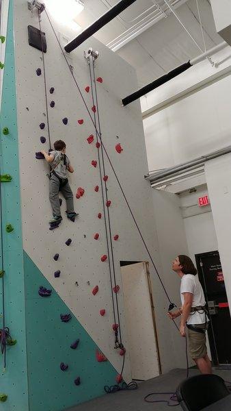 Intermediate kids walls