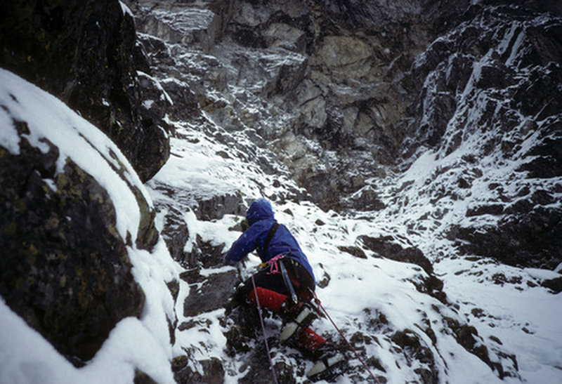 Improbable traverse winter 1994
