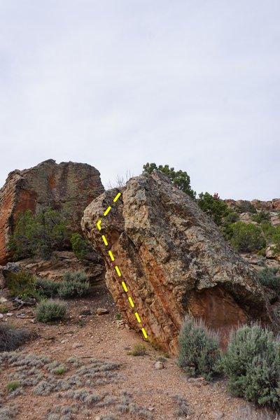 Rhino Boulder.
