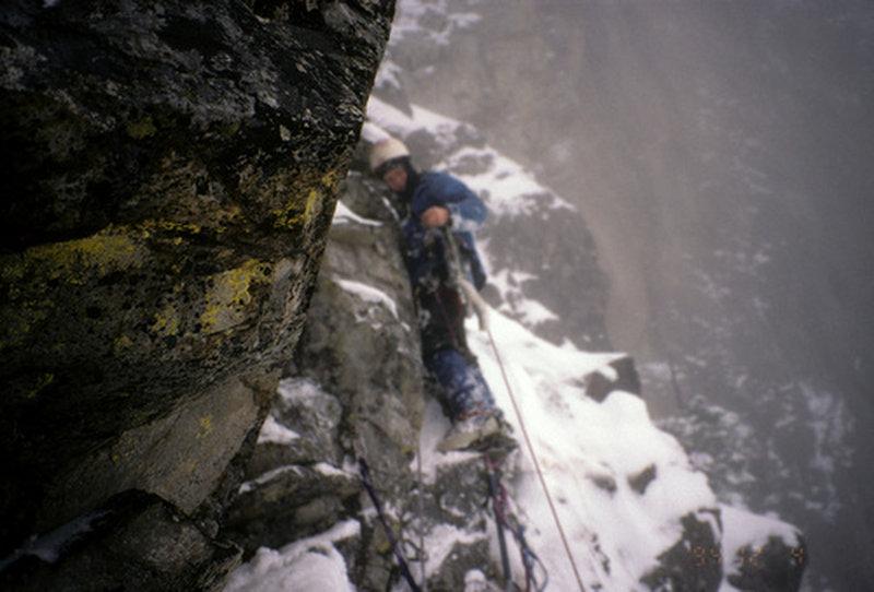 guye west face winter 1994