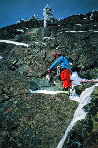 Don Preiss winter ascent south face toof 1991
