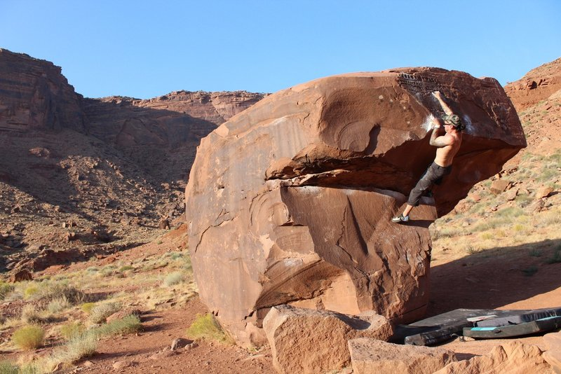 Snagging the crux on Brown Power