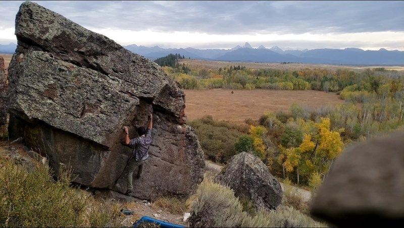 Great problem, fun climbing