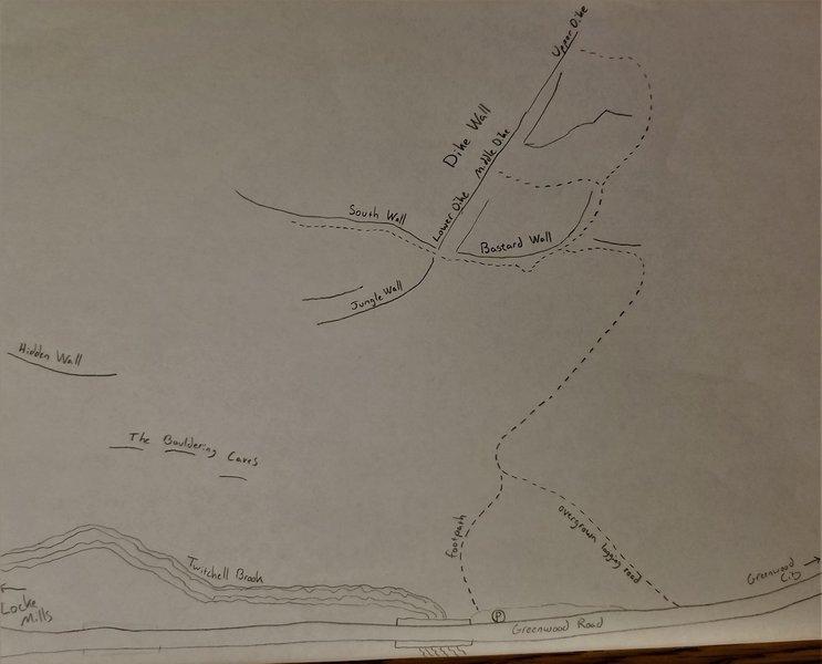 Bald Bluff - Approach Map