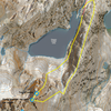 Overview of the route I took with my partner in July 2019 to ascend and descend Picture Peak.  There may be other routes as well.