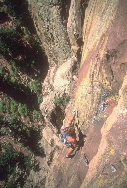 Eric Doub, climber.
