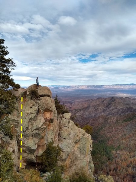 Crag views