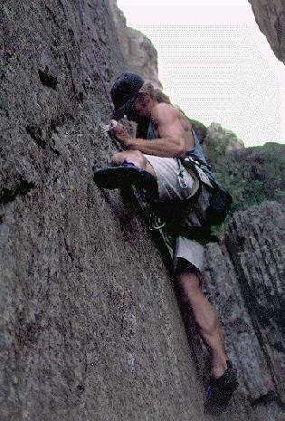 Brit Mark Savage cranking (c) Jesse Ryan 1997