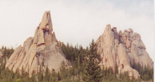 Wigwam Tower and Keystone Buttress