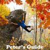 Get a copy of this guide from 2011 for free at https://www.climbduluth.com/guidebooks. The cover photo is of Pete bouldering at Ely's Peak on the bluff boulder.