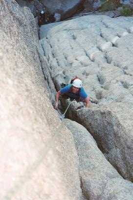 Janet cranking on the first pitch of Osiris.