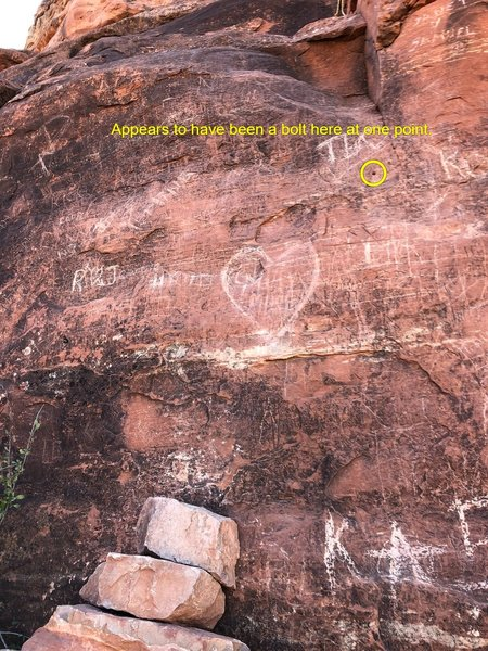 North side of Bell Rock. Sad that such a special place is covered in graffiti.