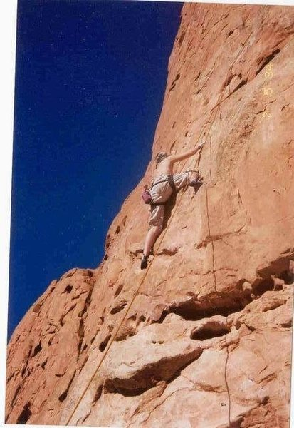 West Point Crack, Great climb! Fun first pitch with crack as second. Highly recommended.