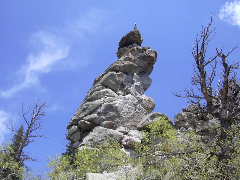 Hill on the summit.