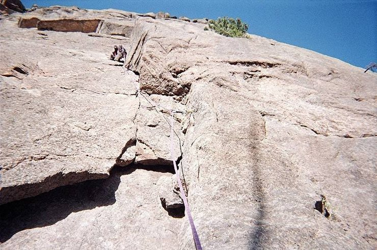 Another great climb on Arch Rock.