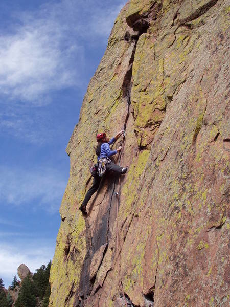 Christa Cline on the beautiful fourth pitch crack.