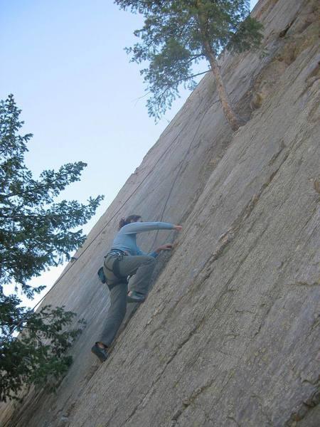 The original ZZJ on a 'first ascent'.