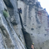 Fun crack climbing